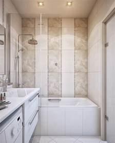 Small Tiled Bathroom Ideas Small Bathroom With Bathtub On A Decorative Tile Interior Design Ideas