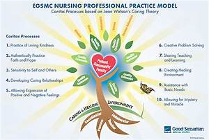 Jean Watson Caring Theory Diagram