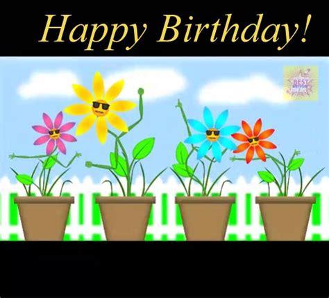 funny flowers singing happy birthday  flowers ecards