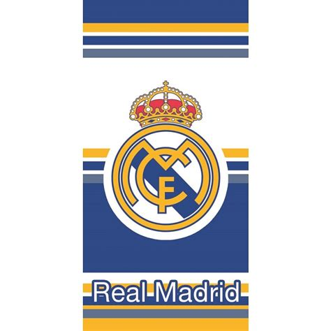 Stay up to date with all the latest real madrid news. Carbotex, real madryt, herb, ręcznik, 70x140 cm - smyk.com