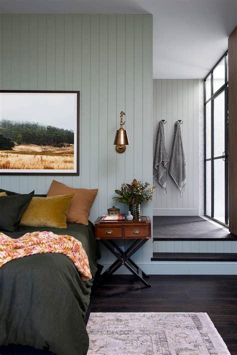 une chambre verte pour une ambiance cosy frenchy fancy
