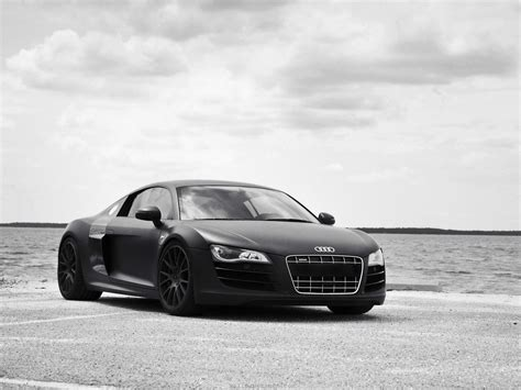 Black Germany Audi R8 Roadster Tuned Famous Wallpaper