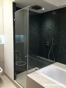 Paroi et porte de douche sur mesure for Portes de douches sur mesure
