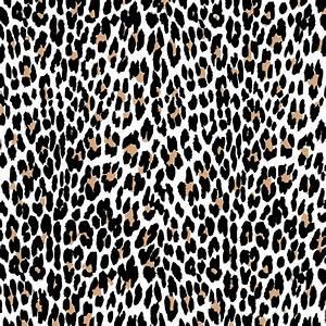 Leopard Print Vector Art | 123Freevectors