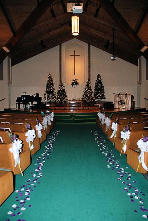 Church Decorations Variation Teal Aisle Runner Silver