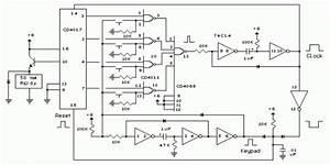 Build A Digital Electronic Lock Circuit Diagram