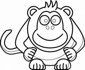 Baby Monkey Face Clip Art | Clipart Panda - Free Clipart ...