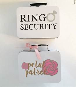 ring security petal patrol boxes each with coloring With ring security box for wedding