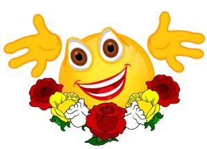 smiley animiert blumen gedichte