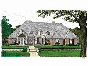 French country house plans one story country ranch house for Country house plans single story