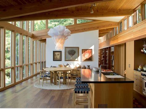 modernes holzhaus  kalifornien architektur und wohnen