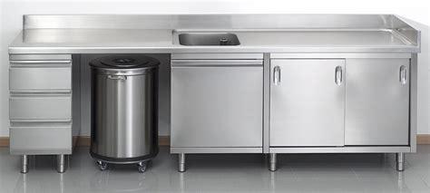 mobilier cuisine professionnel evier inox cuisine professionnelle table de lit