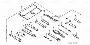 Honda Motorcycle 2000 Oem Parts Diagram For Tools