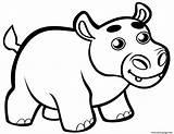 Hippo Coloring Colorear Printable Bebe Mignon Hippopotame Coloriage Dibujo Dibujos Hipopotamo Supercoloring Dibujar Hipopotamos Bebes Hipopotam sketch template
