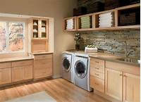 pictures of laundry rooms 33 Laundry Room Shelving And Storage Ideas