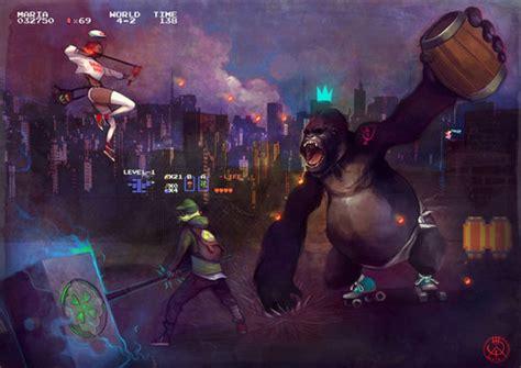 Super Maria And Link Vs Donkey Kong In A Diaper Kotaku