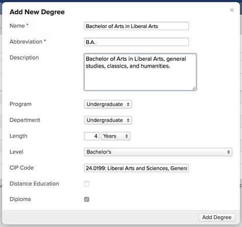 degrees  specializations populi knowledge base