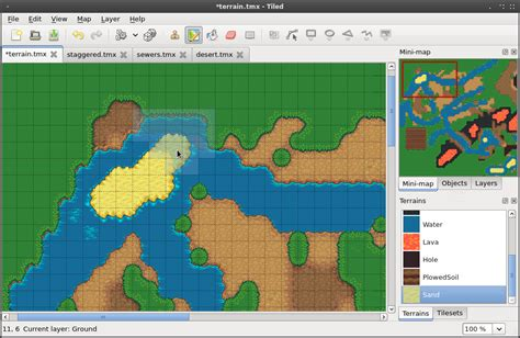 Tiled Map Editor Terrain tiled map editor a generic tile map editor