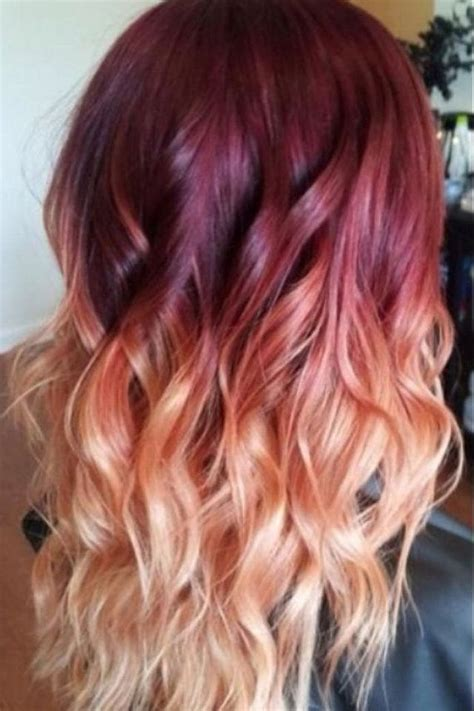 trendy ombre hair styles ombre hair color ideas