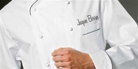 veste de cuisine brod馥 broderie veste de cuisine 28 images veste de cuisinier nancy cr 233 ations veste cuisine veste de cuisine mof col bleu blanc broderie