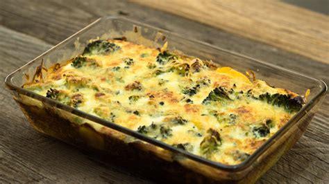 aufläufe mit kartoffeln gratin brokkoli kartoffel auflauf rezept mit