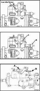 Stanadyne Db4 Fuel Injection Pump Adjustment Screw