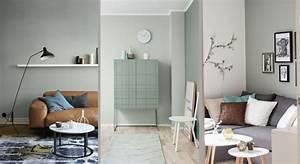 Salon Vert De Gris : peinture vert de gris tendance maison travaux ~ Melissatoandfro.com Idées de Décoration