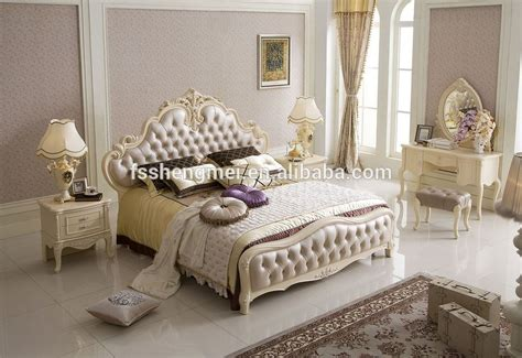red color home furniture luxury king size bed bedroom