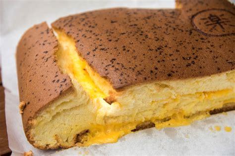 le castella popular fluffy castella cake  cheese