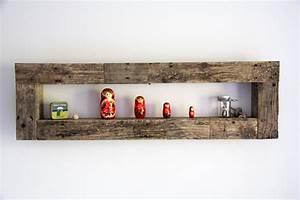Etagere Bois Design : etagere murale ayannar yvar design mobilier ecodesign ~ Teatrodelosmanantiales.com Idées de Décoration