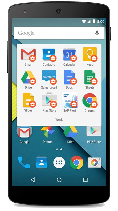 apps for android phones official cloud bring android to work on your