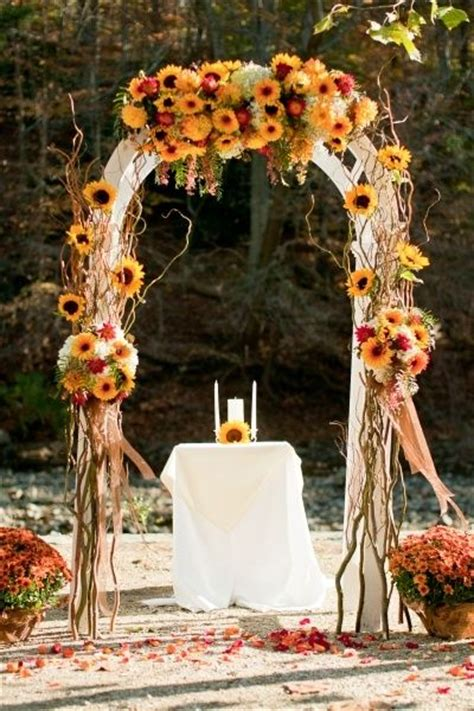 fall wedding decor berabbity com