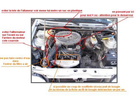 nettoyer si鑒es voiture nettoyage moteur au karcher ford forum marques