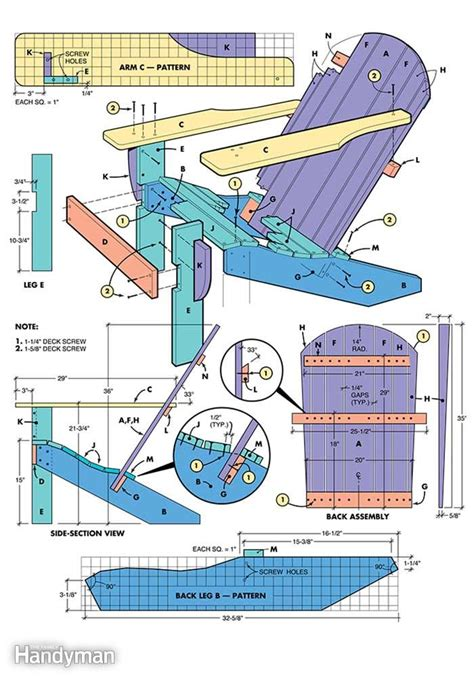 nenny adirondack chair plans free printable learn how