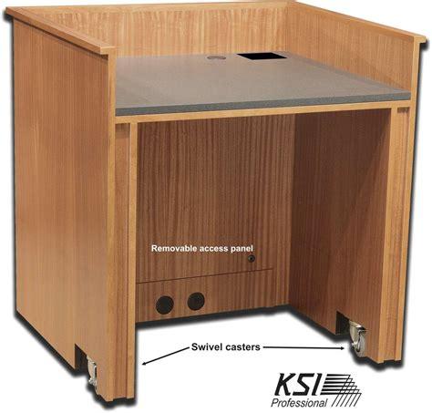 Esl Desk by Esl Pd36 Presentation Desk Ksipro