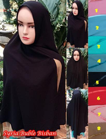 jual jilbab instan pita syria buble bisban sg jilbab 70 cm130cm 52 55 70 960