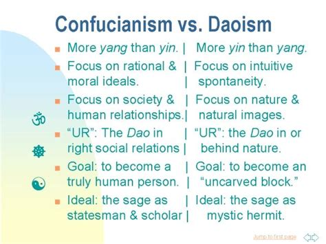 Confucianism Taoism Essays by Confucianism Vs Daoism Ancient China For