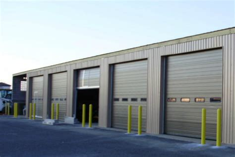 commercial garage door with door minocqua eagle river commercial garage doors wi