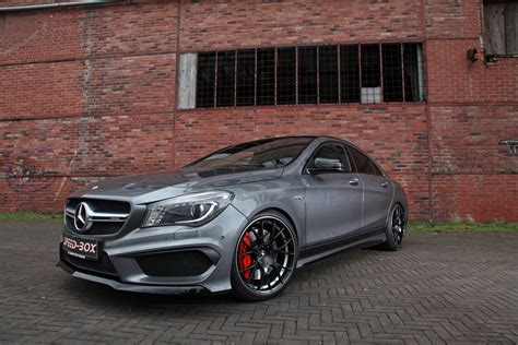 Its exterior conveys pure driving pleasure even when stationary. Facelifted Mercedes-AMG CLA 45 Gets Horsepower Injection, New Rims From SR | Carscoops
