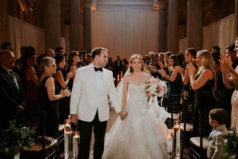 An Elegant Blush & White Black Tie Wedding In Florida