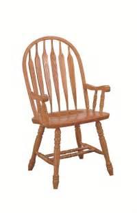 classic oak monarch arrowback arm chair oak dining room