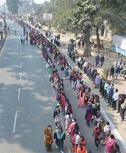 Bihar forms world's largest human chain against alcoholism ...