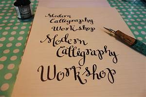 Modern Calligraphy: Marcelle Style - Made By Marzipan