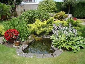 Ideas garden pond design native home garden design for Pond ideas for small gardens