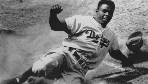 jackie robinson famed baseball player