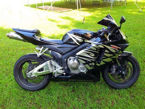 honda cbr 600cc 2006 buy 2006 honda cbr 600rr sportbike on 2040 motos