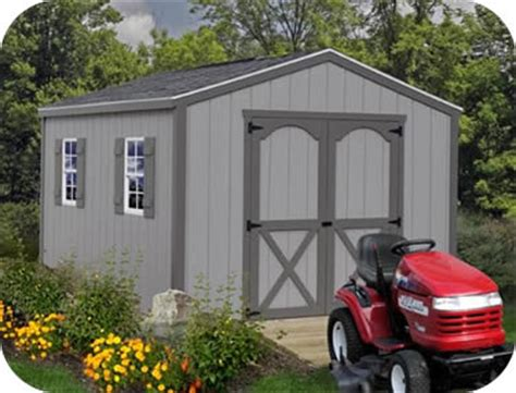 best barns elm 10x12 wood storage shed kit