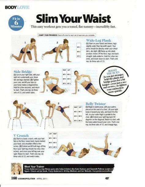 exercise workouts hourglass workout figure