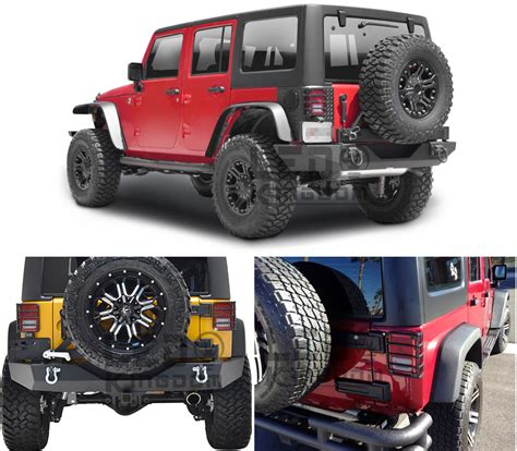tail l guards jeep wrangler steel metal black rear tail light guards covers for 07 16
