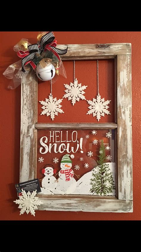 chalk couture holiday crafts christmas easy homemade
